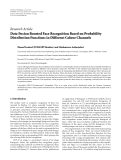 """báo cáo hóa học:""""   Research Article Data Fusion Boosted Face Recognition Based on Probability Distribution Functions in Different Colour Channels"""""""