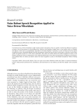 """báo cáo hóa học:""""   Research Article Noise Robust Speech Recognition Applied to Voice-Driven Wheelchair"""""""