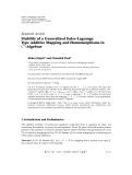 """Báo cáo hóa học: """" Research Article Stability of a Generalized Euler-Lagrange Type Additive Mapping and Homomorphisms in C∗ """""""