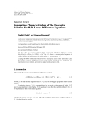 "Báo cáo hoa học: "" Research Article Summation Characterization of the Recessive Solution for Half-Linear Difference Equations"""