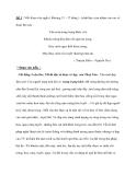 Đề 5 : Viết đoạn văn ngắn ( khoảng 15 - 17 dòng ) , trình bày cảm nhậm của em