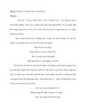 Đề bài :Vẻ đẹp của Thuý Vân và Thuý Kiều