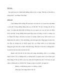 """ĐỀ BÀI : Suy nghĩ của em về hình ảnh những chiến sĩ lái xe trong """"Bài thơ về tiểu đội xe không kính """"của Phạm Tiến Duật."""