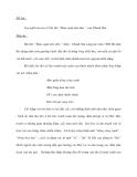 Đề bài: Suy nghĩ của em về bài thơ Mùa xuân nho nhỏ của Thanh Hải