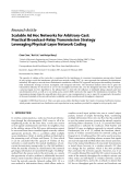 """Báo cáo hóa học: """" Research Article Scalable Ad Hoc Networks for Arbitrary-Cast: Practical Broadcast-Relay Transmission Strategy Leveraging Physical-Layer Network Coding"""""""