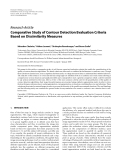 """Báo cáo hóa học: """" Research Article Comparative Study of Contour Detection Evaluation Criteria Based on Dissimilarity Measures"""""""