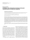 "Báo cáo hóa học: ""Research Article DOOMRED: A New Optimization Technique for Boosted Cascade Detectors on Enforced Training Set"""