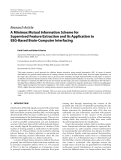 """Báo cáo hóa học: """" Research Article A Minimax Mutual Information Scheme for Supervised Feature Extraction and Its Application to EEG-Based Brain-Computer Interfacing"""""""