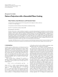 """Báo cáo hóa học: """" Research Article Pattern Projection with a Sinusoidal Phase Grating"""""""