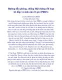Hướng dẫn phòng, chống Hội chứng rối loạn hô hấp và sinh sản ở Lợn (PRRS)