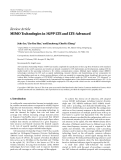 """Báo cáo hóa học: """" Review Article MIMO Technologies in 3GPP LTE and LTE-Advanced"""""""