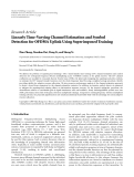 """Báo cáo hóa học: """"Research Article Linearly Time-Varying Channel Estimation and Symbol Detection for OFDMA Uplink Using """""""