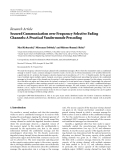 """Báo cáo hóa học: """" Research Article Secured Communication over Frequency-Selective Fading Channels: A Practical Vandermonde Precoding"""""""