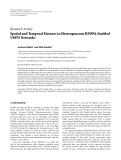 """Báo cáo hóa học: """"Research Article Spatial and Temporal Fairness in Heterogeneous HSDPA-Enabled UMTS Networks"""""""