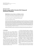 """Báo cáo hóa học: """" Research Article Beamforming in Ad Hoc Networks: MAC Design and Performance Modeling"""""""
