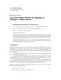 """Báo cáo hóa học: """" Research Article Some Fixed Point Theorem for Mapping on Complete G-Metric Spaces"""""""
