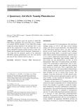 """Báo cáo hóa học: """"  A Quaternary ZnCdSeTe Nanotip Photodetector"""""""