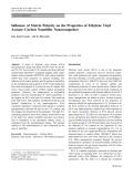 "Báo cáo hóa học: ""   Influence of Matrix Polarity on the Properties of Ethylene Vinyl Acetate–Carbon Nanofiller Nanocomposites"""