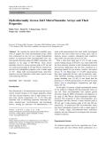 "Báo cáo hóa học: "" Hydrothermally Grown ZnO Micro/Nanotube Arrays and Their Properties"""