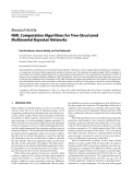 "Báo cáo hóa học: ""   Research Article NML Computation Algorithms for Tree-Structured Multinomial Bayesian Networks"""