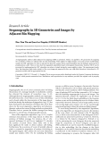 """Báo cáo hóa học: """" Research Article Steganography in 3D Geometries and Images by Adjacent Bin Mapping"""""""