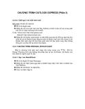 CHƯƠNG TRÌNH OUTLOOK EXPRESS (Phần 3)
