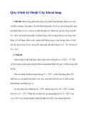 Quy trình kỹ thuật Cây khoai lang