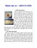 Bệnh rận cá – ARGULOSIS