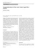 "Báo cáo hóa học: ""Nanophotothermolysis of Poly-(vinyl) Alcohol Capped Silver Particles"""
