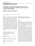 """Báo cáo hóa học: """"The Influences of H2 Plasma Pretreatment on the Growth of Vertically Aligned Carbon Nanotubes by Microwave Plasma Chemical Vapor Deposition"""""""