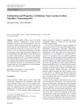 "Báo cáo hóa học: "" Fabrication and Properties of Ethylene Vinyl Acetate-Carbon Nanofiber Nanocomposites"""