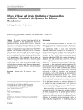 """Báo cáo hóa học: """"  Effects of Shape and Strain Distribution of Quantum Dots on Optical Transition in the Quantum Dot Infrared """""""