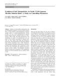 "Báo cáo hóa học: ""  Evolution of ZnS Nanoparticles via Facile CTAB Aqueous Micellar Solution Route: A Study on Controlling Parameters"""