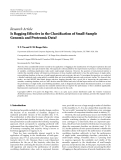 """Báo cáo hóa học: """" Research Article Is Bagging Effective in the Classification of Small-Sample Genomic and Proteomic Data?"""""""
