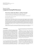"Báo cáo hóa học: ""  Research Article Compressive Sensing DNA Microarrays"""