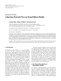 """Báo cáo hóa học: """" Research Article A Bayesian Network View on Nested Effects Models"""""""