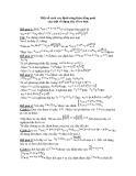 Một số cách xác định công thức tổng quát  của một số dạng dãy số cơ bản