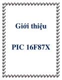 Giới thiệu PIC 16F87X