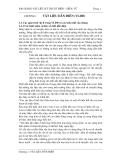 Bài giảng vật liệu kỹ thuật Điện-Điện tử: Chương 1