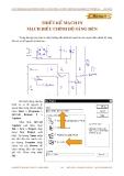 Bài tâp Thiết kế mạch in điều chỉnh độ sáng đèn