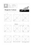 Cách xếp rồng 2 đầu bằng giấy