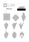 Cách xếp cào cào bằng giấy
