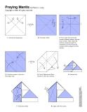 Cách xếp bọ ngựa bằng giấy