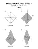 Cách xếp mặt nạ fantasy bằng giấy