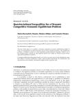 "Báo cáo hóa học: "" Research Article Quasivariational Inequalities for a Dynamic Competitive Economic Equilibrium Problem"""