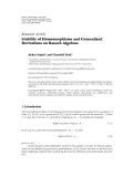 "Báo cáo hóa học: "" Research Article Stability of Homomorphisms and Generalized Derivations on Banach Algebras"""