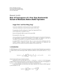 """Báo cáo hóa học: """" Research Article Rate of Convergence of a New Type Kantorovich Variant of Bleimann-Butzer-Hahn Operators"""""""