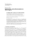 "Báo cáo hóa học: "" Research Article Approximately n-Jordan Homomorphisms on Banach Algebras"""
