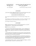 Quyết định số 133/QĐ-UBND