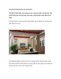 Thay đổi nội thất phù hợp cho căn hộ nhỏ